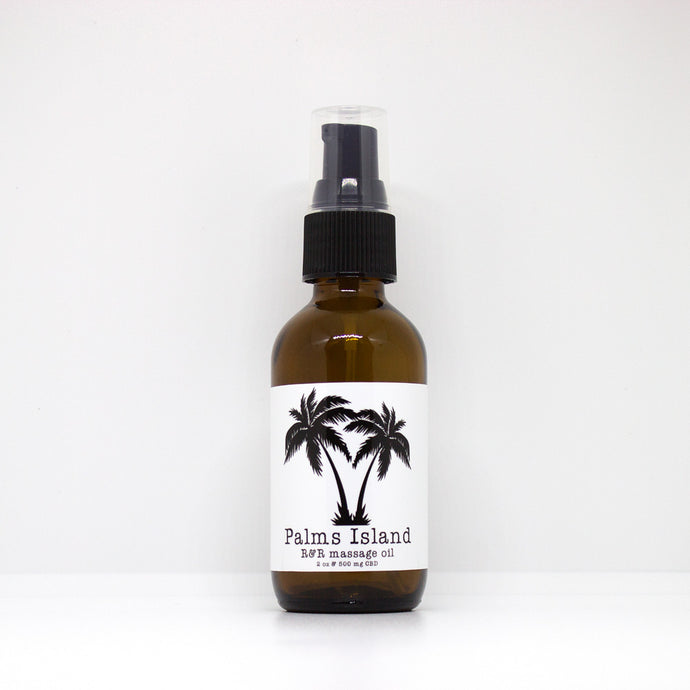 Palms Island R&R Massage Oil - Palms Island