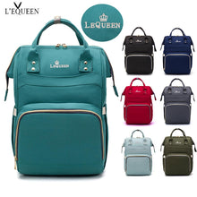 Load image into Gallery viewer, Designer Trendy Diaper Changing Backpack Bag