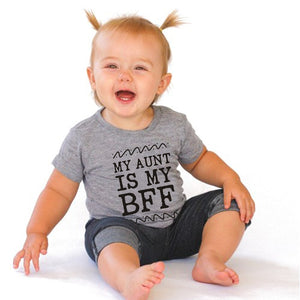 MY AUNT IS MY BFF Baby Bodysuit