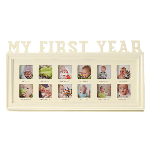 my first year keepsake picture frame