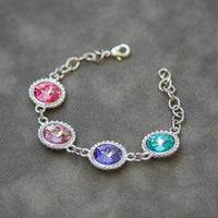 Birthstone Jewelry for Mom, Grandma's Bracelet