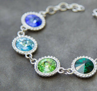 Grandmother's Personalized Bracelet, Birthstones
