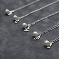 Bridal Party Jewelry in Sterling Silver