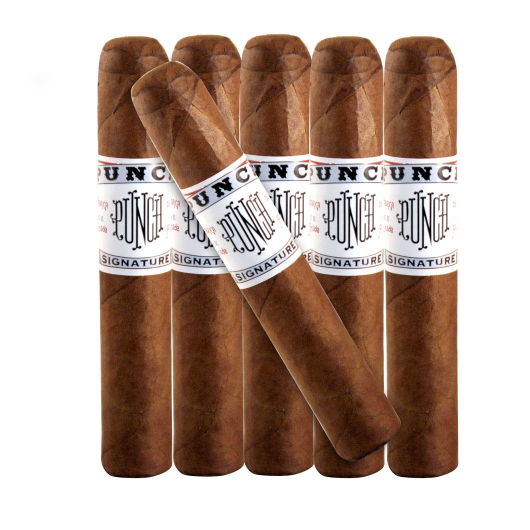 Punch Signature Robusto (5x50) Natural 6 Pack
