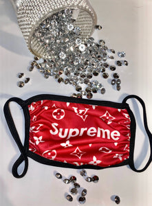 Red Preme Mask