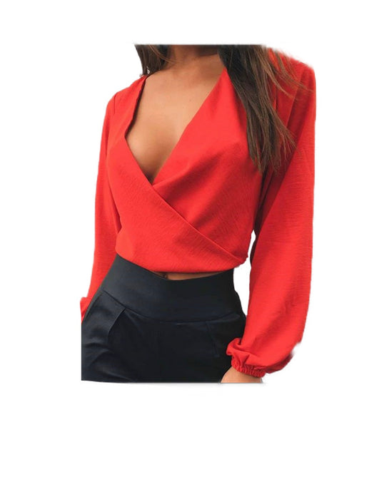 Nikki Backless Top