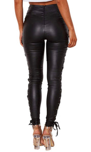 """Diara"" Leather Pants"