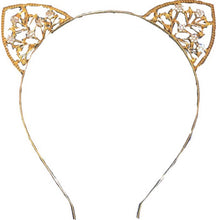 Load image into Gallery viewer, Bad Little Kitty Mama Rhinestone Headband