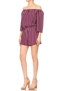 Color Between The Lines Romper