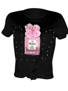 Paris & Pearls Fashion Tee