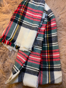 Plain Plaid Scarf