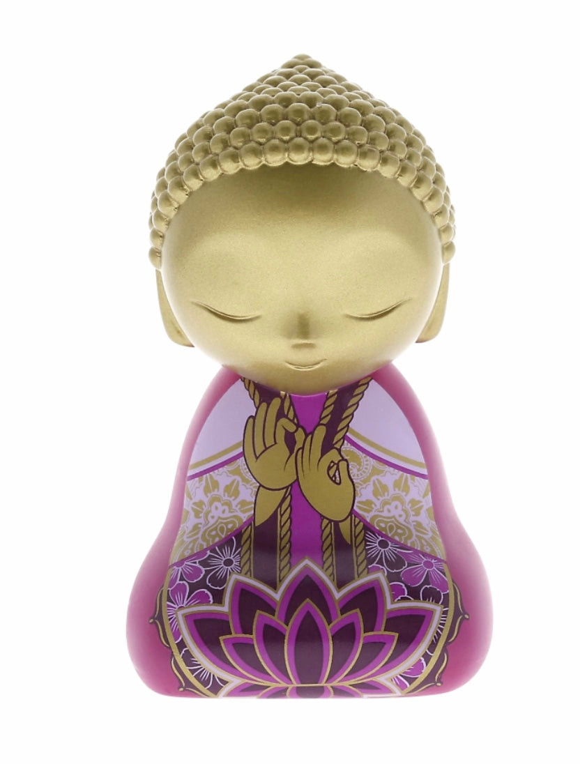 Little Buddha Figurine - RELEASE WHAT BRINGS YOU SUFFERING