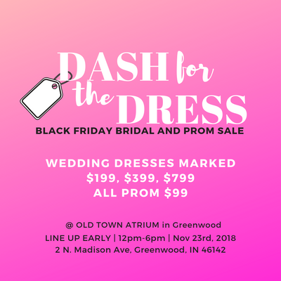 NOV 23rd, 2018 | BLACK FRIDAY DASH FOR THE DRESS