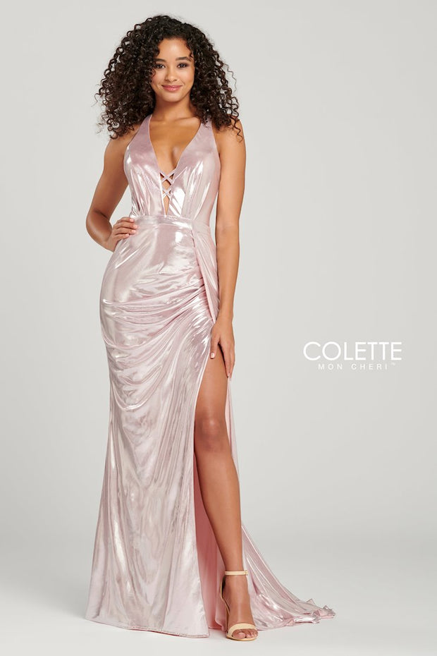 Sophias Prom By Colette Mon Cheri CL12001 Ice Pink Prom Dress