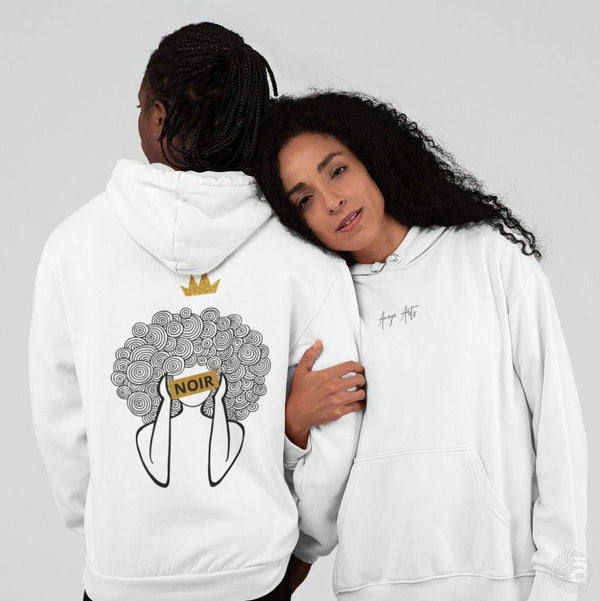 "Unisex hoodie-""See ME"" white - Shop wall art, apparel, accessories, Greeting cards & colouring sheets 