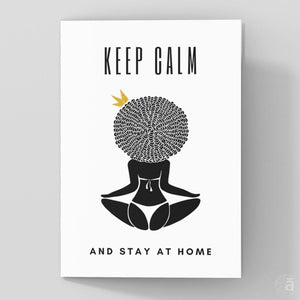 Stay home - Shop wall art, apparel, accessories, Greeting cards & colouring sheets | Anaya Arts