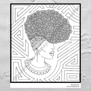 Colouring Sheets (download and print) - Anaya Arts