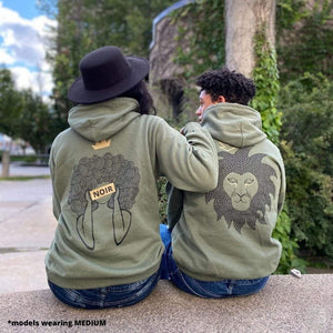 "Unisex hoodie-""Simba rebirthed"" - Shop wall art, apparel, accessories, Greeting cards & colouring sheets 