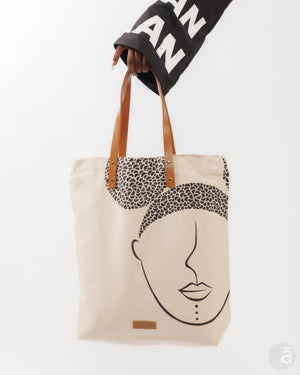 "Everyday Chique bag- ""Curlfriends"" - Anaya Arts"