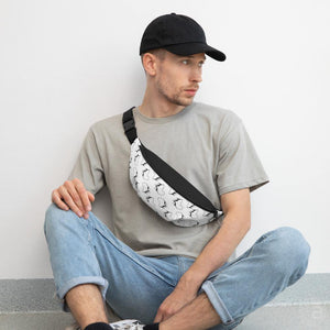 "Fanny Pack- ""Le Bled""- white"