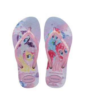 HAVAIANAS KIDS SLIM MY LITTLE PONY - LAVANDER