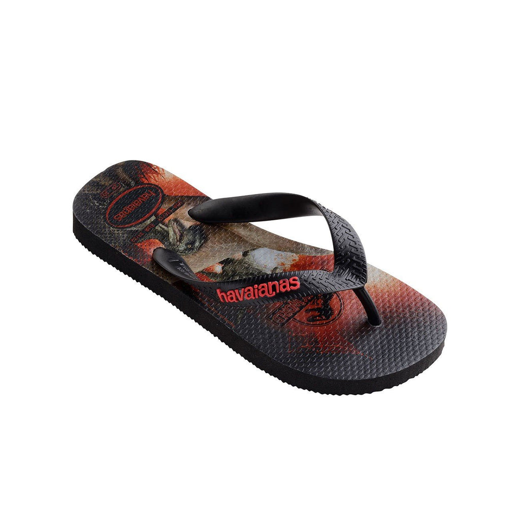 HAVAIANAS KIDS JURASSIC WORLD - BLACK