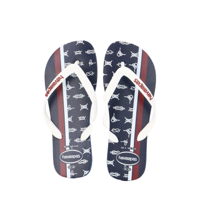 HAVAIANAS TOP NAUTICAL - NAVY BLUE/WHITE/APACHE RED