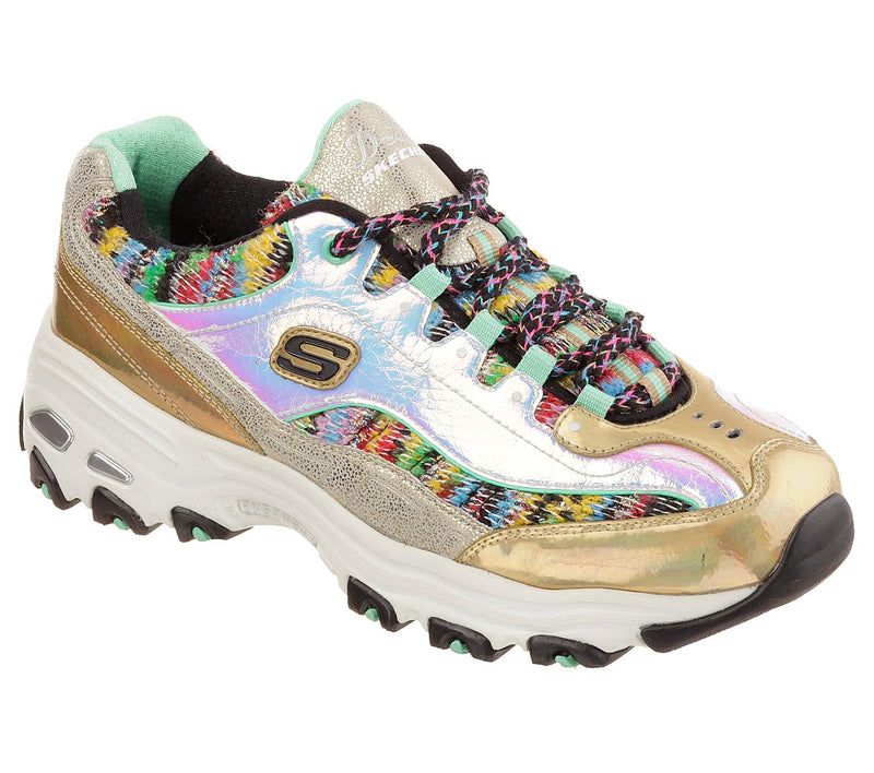 SKECHERS - WOMEN SHOES - SKECHERS D LITES - GOLD DUST - The BCode
