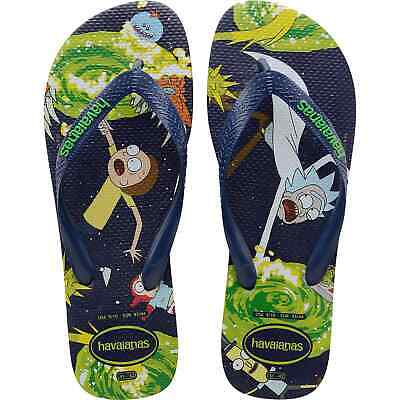 HAVAIANAS TOP RICK AND MORTY - NAVY BLUE