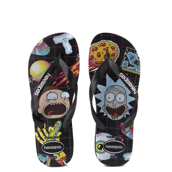 HAVAIANAS TOP RICK AND MORTY - BLACK