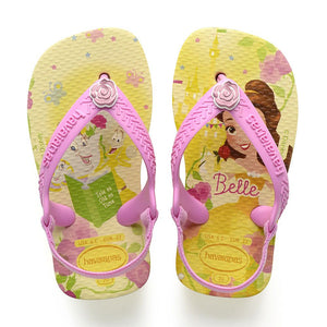 HAVAIANAS BABY DISNEY PRINCESS - POLLEN YELLOW