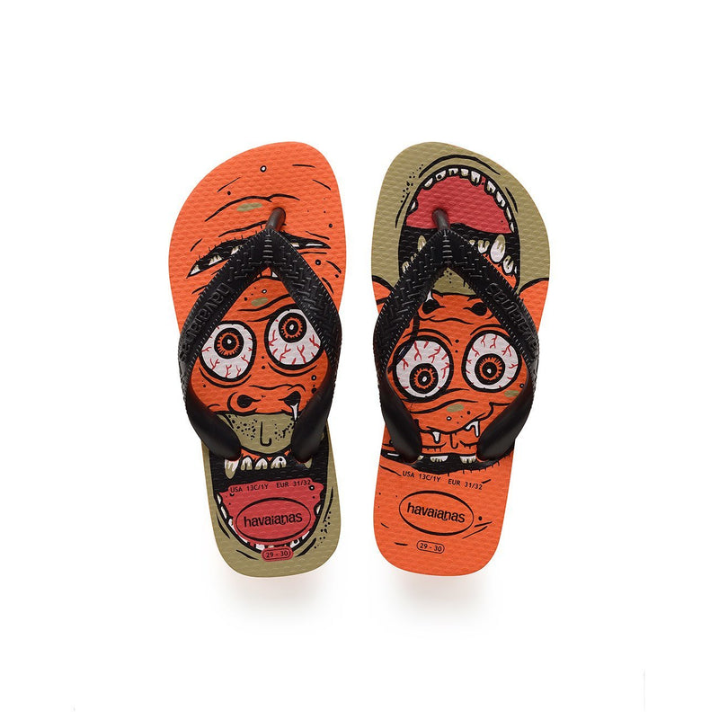 HAVAIANAS KIDS RADICAL - NEON ORANGE