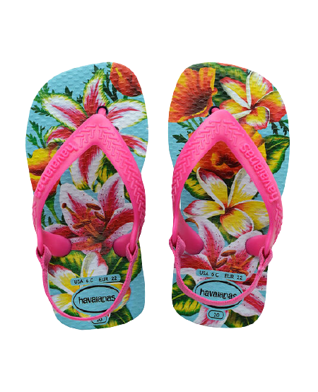 HAVAIANAS BABY CHIC II - BLUE