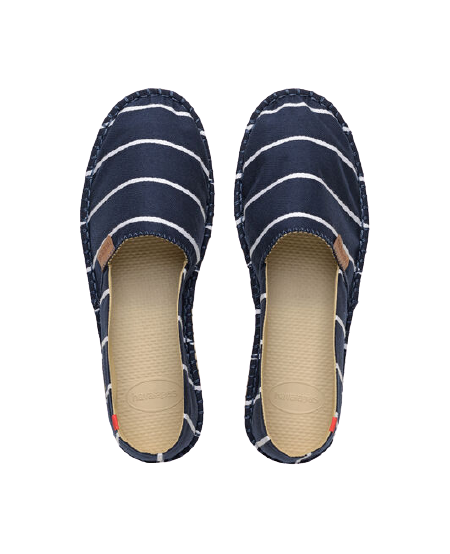 HAVAIANAS ORIGINE STRIPES I - NAVY BLUE