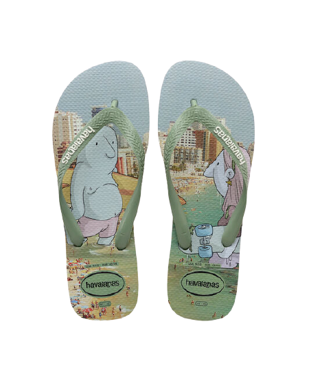 HAVAIANAS TOP STREET - MINERAL GREEN