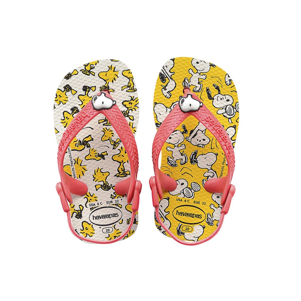HAVAIANAS BABY SNOOPY - WHITE