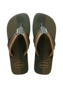 HAVAIANAS URBAN COLOR BLOCK - GREEN OLIVE