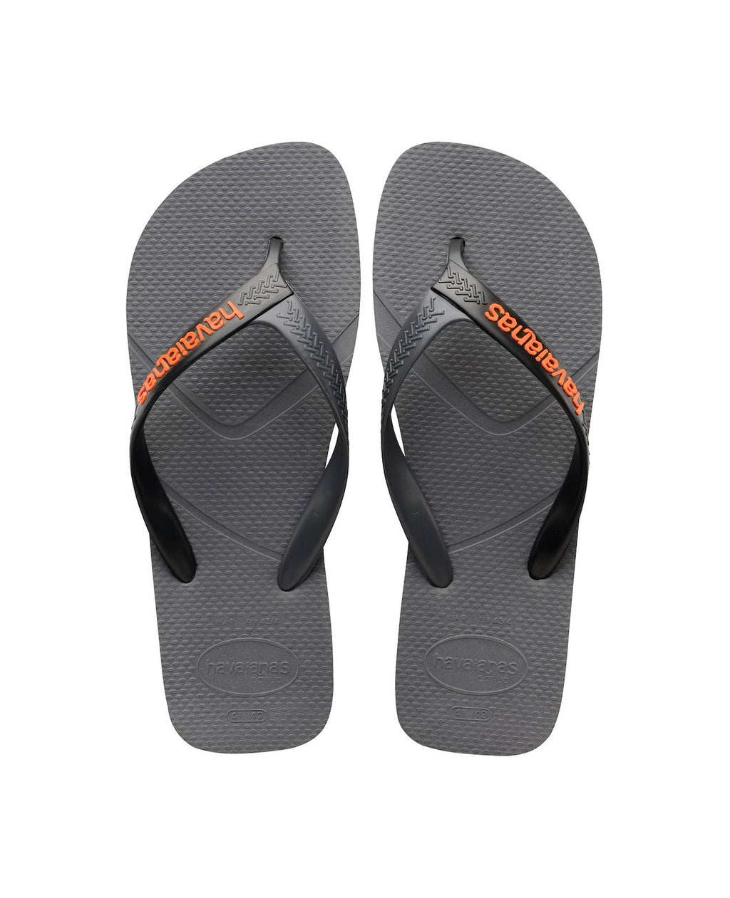 HAVAIANAS CASUAL - STEEL GREY/BLACK