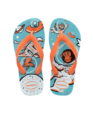 HAVAIANAS KIDS RADICAL - BLUE.ORANGE