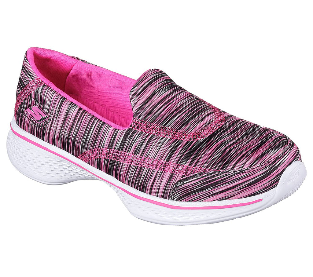 SKECHERS GO WALK 4 - SPORTY STRIPES