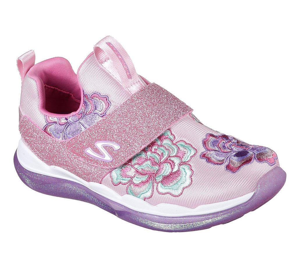 SKECHERS SPARKLE RACER - PERFECT PETAL