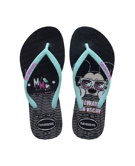 HAVAIANAS KIDS DISNEY COOL - BLACK