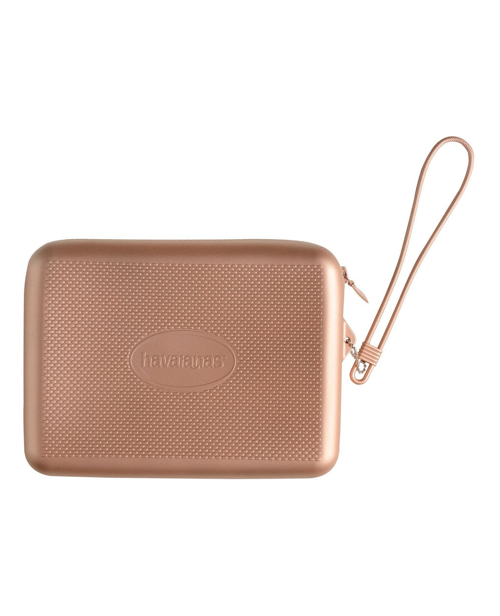 HAVAIANAS BEACH NECESSAIRE - METALLIC GOLDEN BLUSH