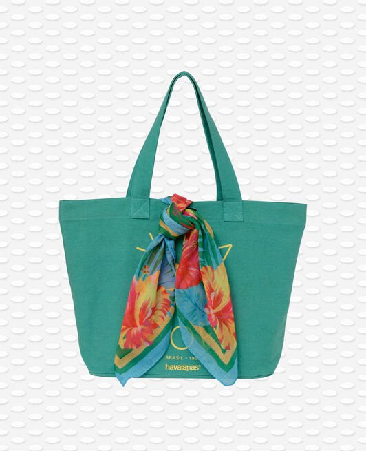 HAVAIANAS SHOPPING BAG TRENDY - BUSH GREEN