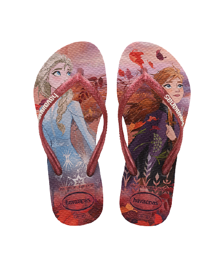 HAVAIANAS KIDS SLIM FROZEN - CRYSTAL ROSE