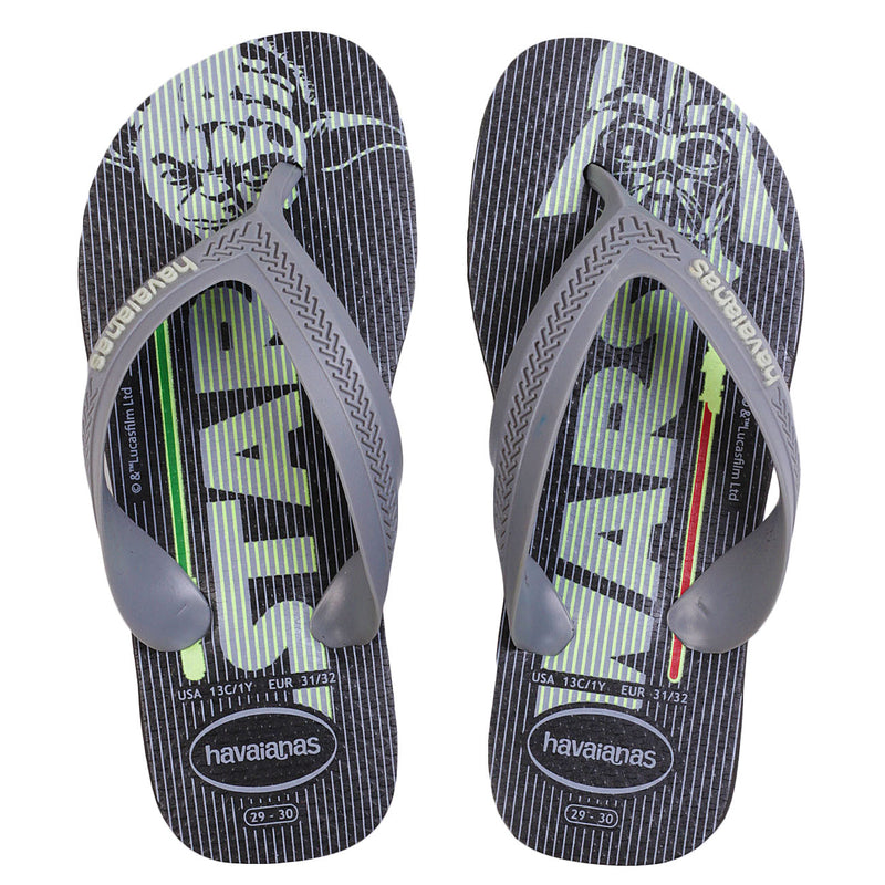 HAVAIANAS KIDS MAX STAR WARS - BLACK