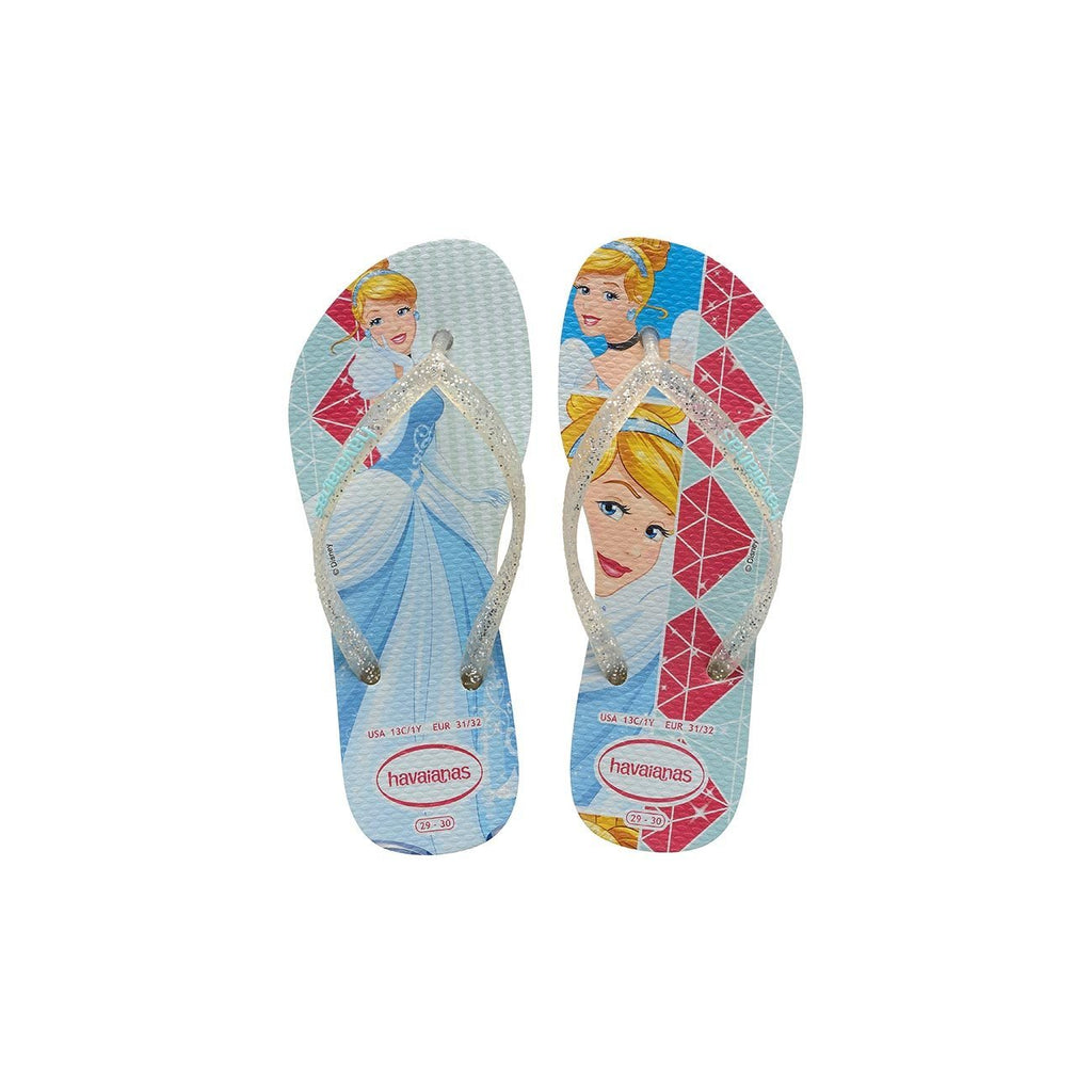 HAVAIANAS KIDS SLIM PRINCESS - WHITE