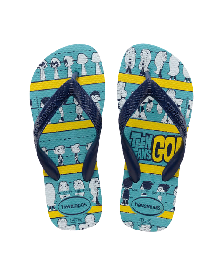 HAVAIANAS KIDS YOUNG TITANS - BLUE