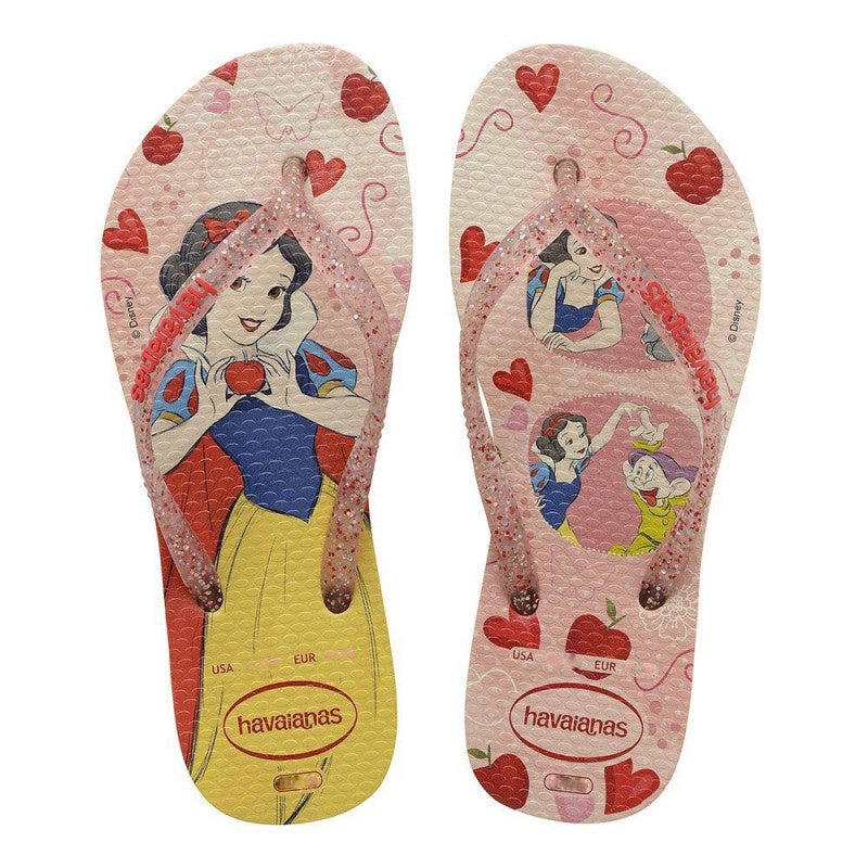HAVAIANAS KIDS SLIM PRINCESS - LEMON YELLOW