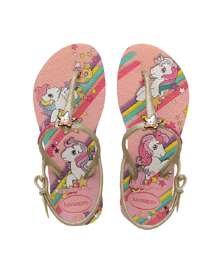 HAVAIANAS KIDS FREEDOM SL MY LITTLE PONY - WHITE